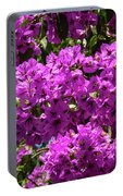 Bougainvillea Blooms Portable Battery Charger