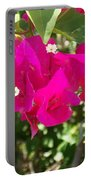 Bougainvillea Boogey Portable Battery Charger