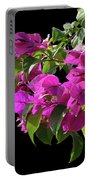 Bougainvillea Cutout Portable Battery Charger