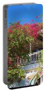 Bougainvillea Villa Portable Battery Charger