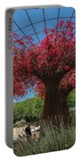 Bougainvilleas Tree Scultures Portable Battery Charger