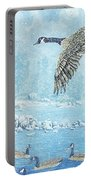 Boulder Bay Geese Portable Battery Charger