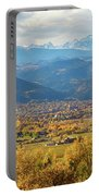 Boulder Colorado Autumn Scenic View Portable Battery Charger