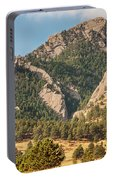 Boulder Colorado Rocky Mountain Foothills Portable Battery Charger