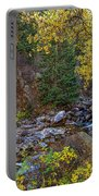 Boulder Creek Autumn View  Portable Battery Charger