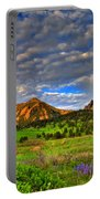 Boulder Spring Wildflowers Portable Battery Charger