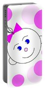 Bouncing Baby Girl Portable Battery Charger