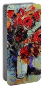 Bouquet De Couleurs Portable Battery Charger