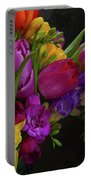 Floral Dance Portable Battery Charger