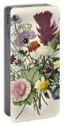 Bouquet Of Flowers, Anonymous, 1680 Portable Battery Charger