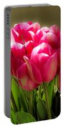 Bouquet Of Flowers Portable Battery Charger