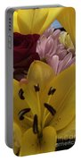 Bouquet Of Beauty Portable Battery Charger