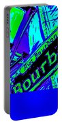 Bourbon Street In Blue Portable Battery Charger