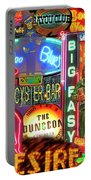 Bourbon Street Neon Portable Battery Charger