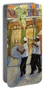 Bourbon Street Second Line New Orleans Portable Battery Charger