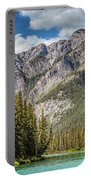 Bow River Banff Alberta Portable Battery Charger