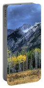 Bow Valley Parkway Banff National Park Alberta Canada II Portable Battery Charger
