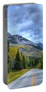 Bow Valley Parkway Banff National Park Alberta Canada Vi Portable Battery Charger