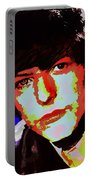 Bowie 60s Fringe  Portable Battery Charger