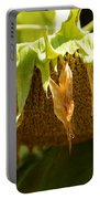 Bowing Sunflower Portable Battery Charger