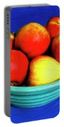Bowl Of Apples Portable Battery Charger