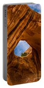 Bowtie Arch Near Arches National Park - Utah Portable Battery Charger