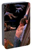 Boxcar Pieta Portable Battery Charger by Eikoni Images