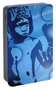 Boxer In Blue Portable Battery Charger