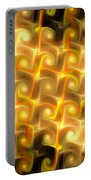 Boxes Yellow Art Portable Battery Charger
