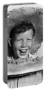 Boy Eating Watermelon, C.1940-50s Portable Battery Charger