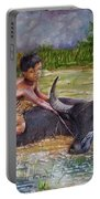Boy In A Carabao Portable Battery Charger