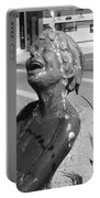 Boy In Fountain Sculture Grand Junction Co Portable Battery Charger