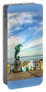 Boy On The Seahorse Portable Battery Charger