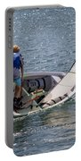 Boy Sailing Portable Battery Charger