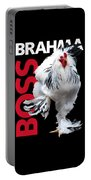 Brahma Boss T-shirt Print Portable Battery Charger