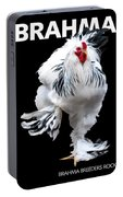 Brahma Breeders Rock T-shirt Print Portable Battery Charger