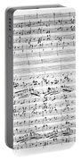 Brahms Manuscript Portable Battery Charger