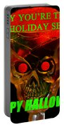 Brain Desert Halloween Card Portable Battery Charger