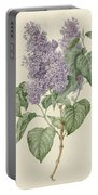 Branch With Purple Lilacs, Maria Geertruyd Barbiers-snabilie, 1786 - 1838 Portable Battery Charger