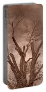Branches Against Sepia Sky H   Portable Battery Charger