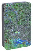 Branches And Sky Portable Battery Charger