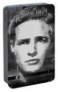 Brando Odyssey Black And White Portable Battery Charger