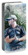 Branden Grace Watercolor Portable Battery Charger