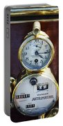 Brass Auto-meter Speedometer Portable Battery Charger