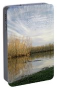 Brazos Bend White Egret Solitude Portable Battery Charger