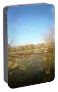 Brazos Bend Winter Wetland Portable Battery Charger