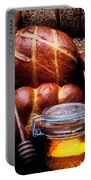Bread And Honey Portable Battery Charger