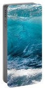 Breaking Wave At Kekaha Beach Portable Battery Charger