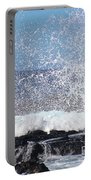 Breaking Waves Portable Battery Charger