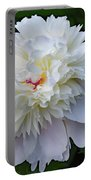 Breathtaking - Festiva Maxima Double White Peony Portable Battery Charger